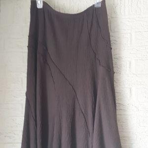 Asymmetrical Seam Skirt